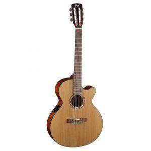 Cort CEC5 Natural Glossy elektrisch-akoestische klassieke gitaar