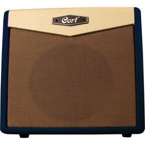 Cort CM15R Dark Blue 15 watt gitaarversterker combo