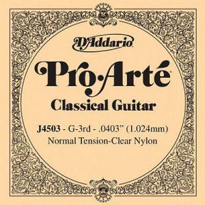 D'Addario J4503 snaar voor klassieke gitaar normal tension (G3)