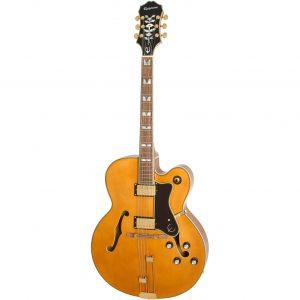 Epiphone Broadway Vintage Natural semi-akoestische gitaar
