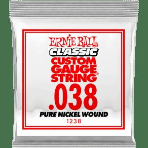 Ernie Ball 1238 .038 Classic Pure Nickel Wound losse snaar voor elektrische gitaar