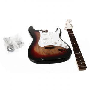Fazley FST-DIY 3-Color Sunburst elektrische gitaar bouwpakket