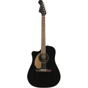 Fender Redondo Player LH Jetty Black linkshandige gitaar