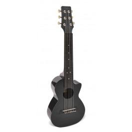 Korala PUG-40-BK Poly Ukes guitarlele polycarbonaat
