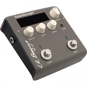 LR Baggs Soundscape impulse response-pedaal voor akoestische gitaar