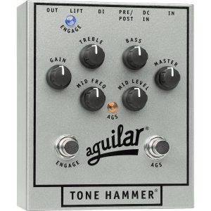 Aguilar Tone Hammer (Silver 25th Anniversary Limited Edition) preamp & DI-box