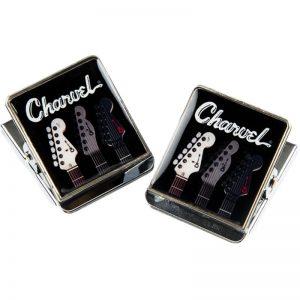 Charvel Toothpaste Logo Clip Magnets koelkastmagneten (2 stuks)