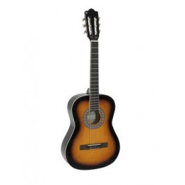 DIMAVERY AC-303 Classical Guitar 3/4 sunburst