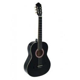 DIMAVERY AC-303 Classical Guitar, black