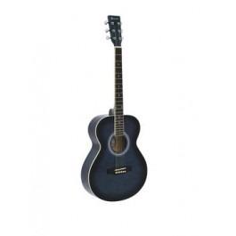 DIMAVERY AW-303 Western guitar blueburst