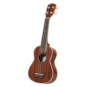 Fazley K21-W sopraan ukelele naturel