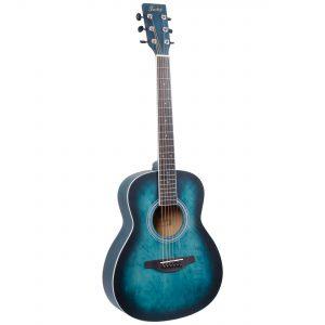 Fazley W55-COL-G-3/4 ColourTune western gitaar groen