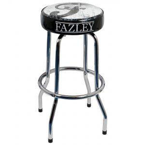Fazley barkruk 75 cm met vintage logo