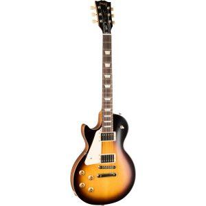 Gibson Modern Collection Les Paul Tribute Satin LH Tobacco Burst linkshandige elektrische gitaar met soft shell case