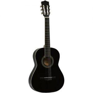 Gomez 034 1/2-model klassieke gitaar zwart