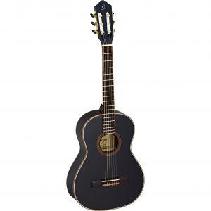 Ortega Family Series R221BK-3/4 klassieke gitaar zwart met tas
