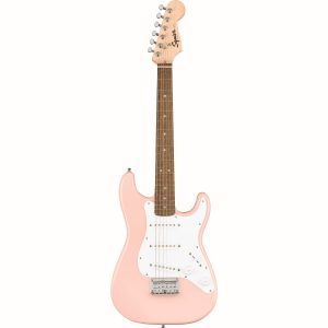 Squier Mini Stratocaster Shell Pink kindergitaar / reisgitaar