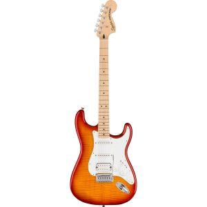 Squier Affinity Series Stratocaster FMT HSS MN Sienna Sunburst elektrische gitaar