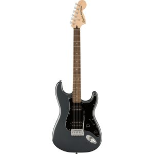 Squier Affinity Series Stratocaster HH IL Charcoal Frost Metallic elektrische gitaren