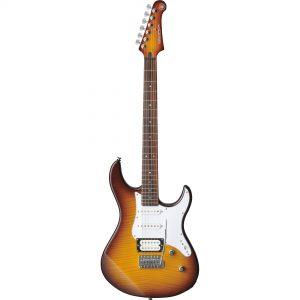 Yamaha PACIFICA212VFM Tobacco Brown Sunburst 6-snarige elektrische gitaar