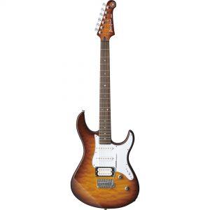 Yamaha PACIFICA212VQM Tobacco Brown Sunburst 6-snarige elektrische gitaar