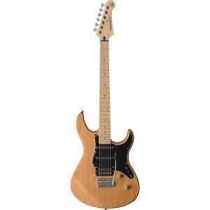 (B-Stock) Yamaha Pacifica 112VMX RL Yellow Natural Satin elektrische gitaar met Remote proeflessen