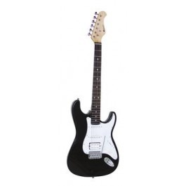 DIMAVERY ST-312 E-Guitar, black