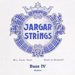 Jargar JBA-E-BL Classic Blue contrabassnaar E-4