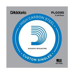 D'Addario PL0095 losse snaar voor elektr. en akoestische gitaar