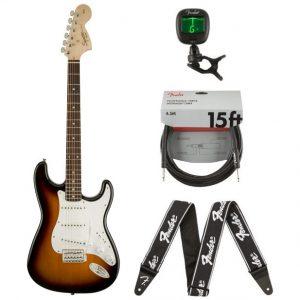 Squier Affinity Stratocaster Sunburst + accessoires